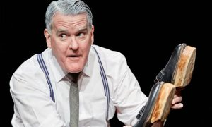 Mikel Murfi is The Man In The Womans shoes