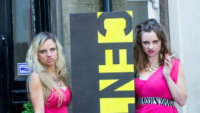 Niamh Moroney (left) and Andrea Bolger (right) in Pulled
