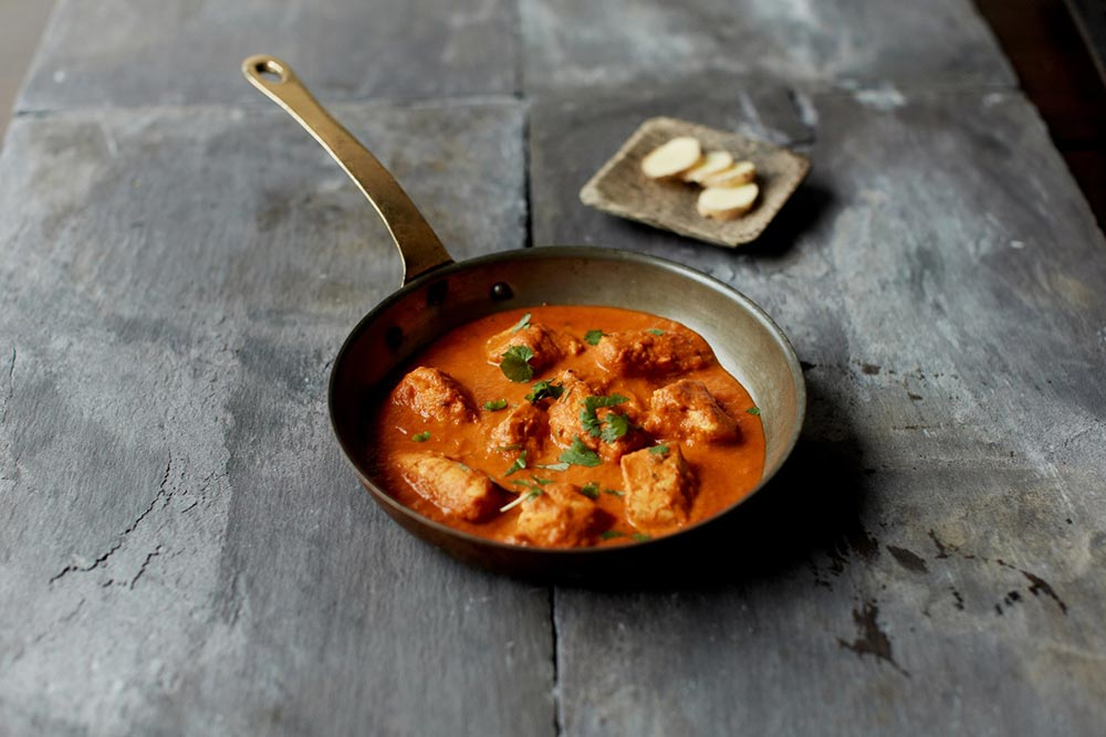 The chicken tikka masala at Bombay Pantry, Dublin.