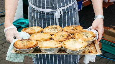 Pies at The Eatyard?