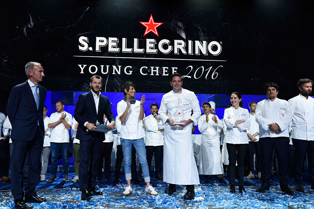 Mitch Lienhard, San Pellegrino Young Chef 2016. Photo: S.Pellegrino Young Chef 2016