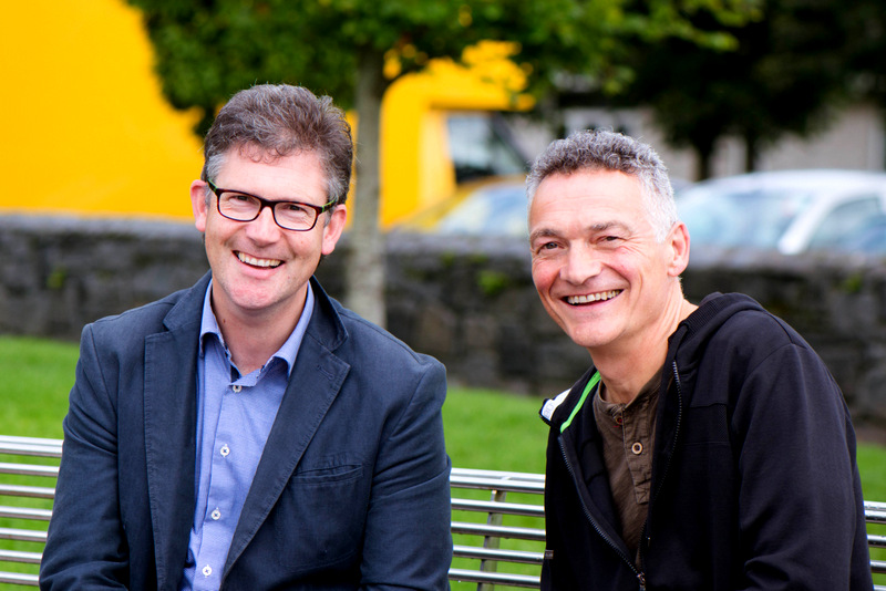 Colm McCan and Pascal Rossignol of Le Caveau Wines. Photo Joleen Cronin