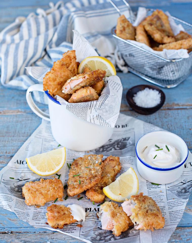 Breaded trout goujons anyone? One of the recipes in Fishwives.