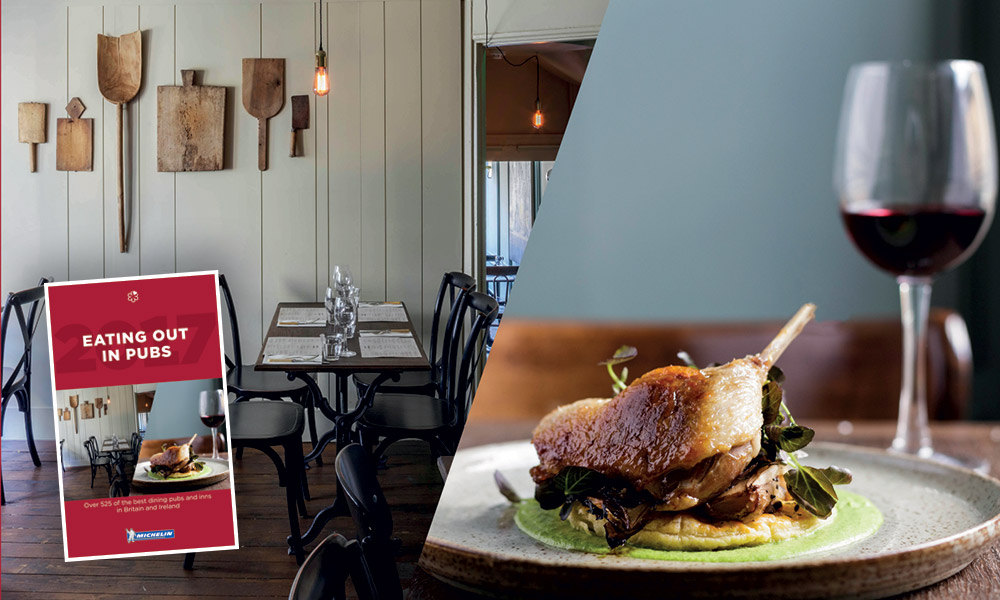 The 2017 Michelin Guide to Eating Out In Pubs is out now