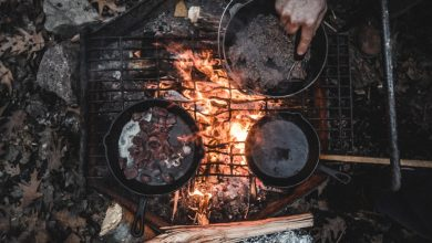 Out door pit fire cooking? Sure! Photo: pexels.com