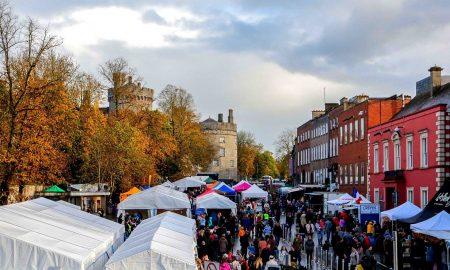 The Savour Kilkeny food village on The Parade in Kilkenny City. Photo: Savour Kilkenny/Facebook