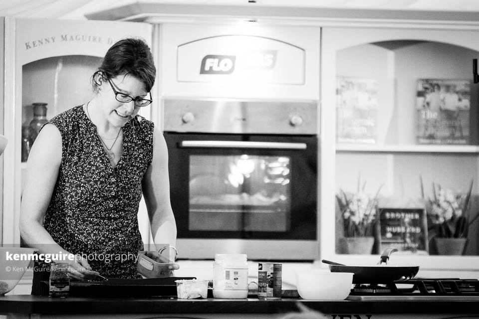 Patricia Daly during the demo for The Ketogenic Kitchen. Photo: Ken McGuire/kenmcguire.ie