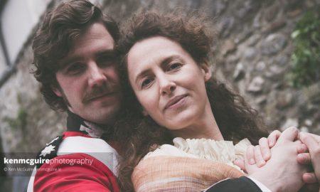Alan Butler and Muireann Ryan in 'Translations'. Photo: Ken McGuire/kenmcguire.ie