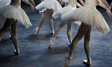 Ballet dancers on a stage. Photo: Kilkenny Academy of Dance/Facebook