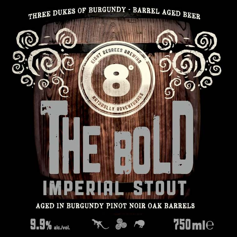 Eight Degrees Brewing's 'The Bold Imperial Stout'