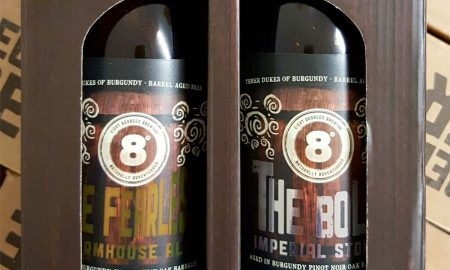 Eight Degrees Brewing's seasonal beers are in