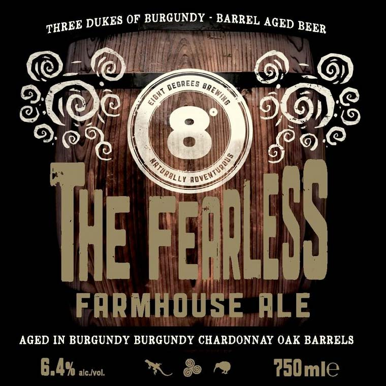 Eight Degrees Brewing's 'Fearless Farmhouse Ale