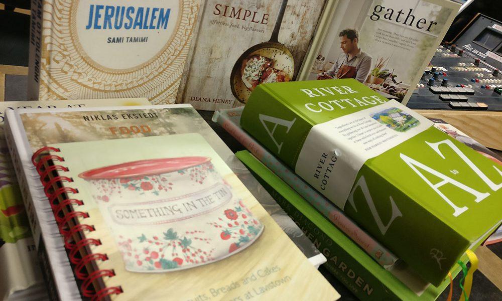 Books for Christmas courtesy of Francis Nesbitt