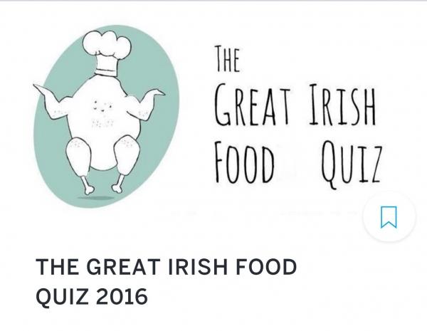 The Great Irish Food Quiz