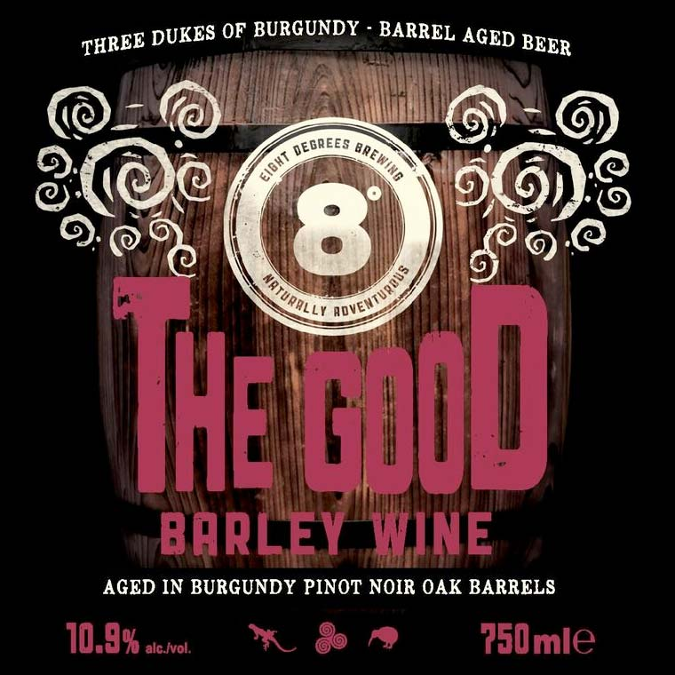Eight Degrees Brewing's 'The Good Barleywine'
