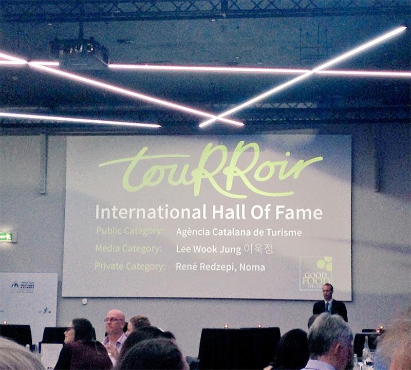 The touRRoir 2016 International Hall of Fame recipients. Photo: Dee Laffan/Twitter