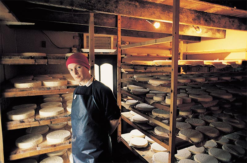 Veronica Steele of Milleens Cheese. Photo: CAIS - The Association of Irish Farmhouse Cheesemakers