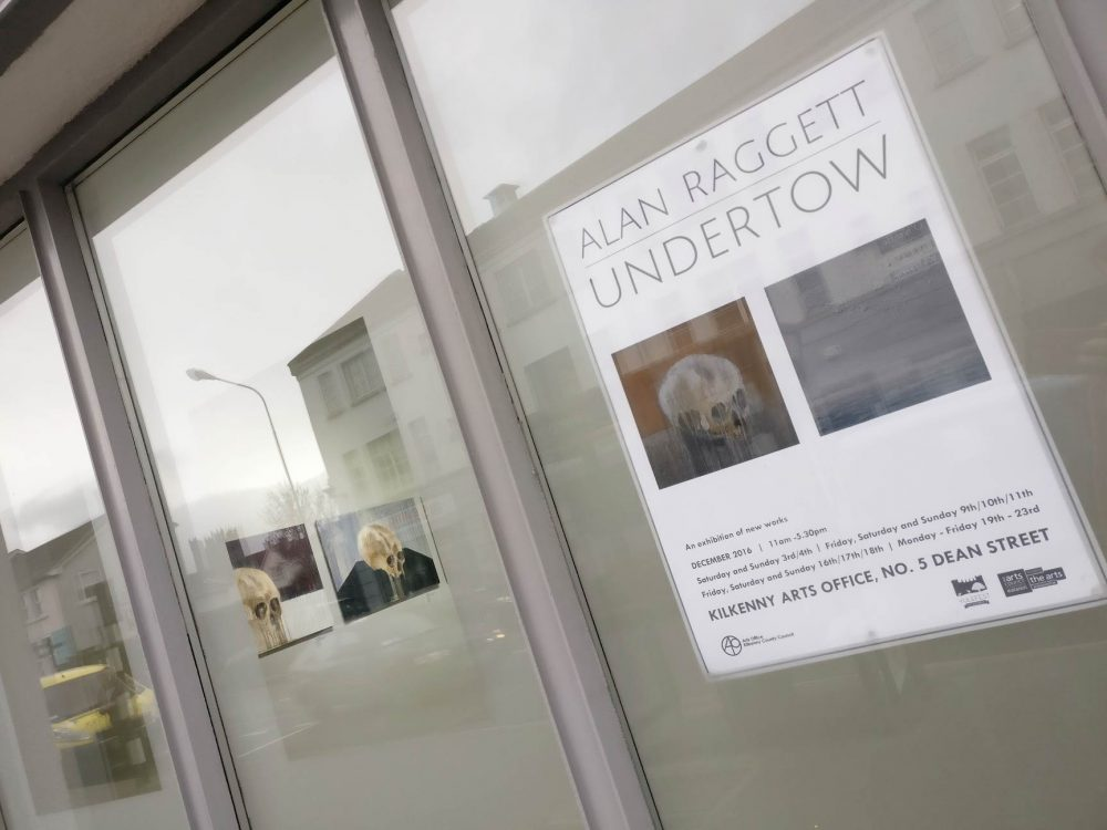 Alan Raggett's solo show Undertown runs at Kilkenny Arts Office through December 2016.