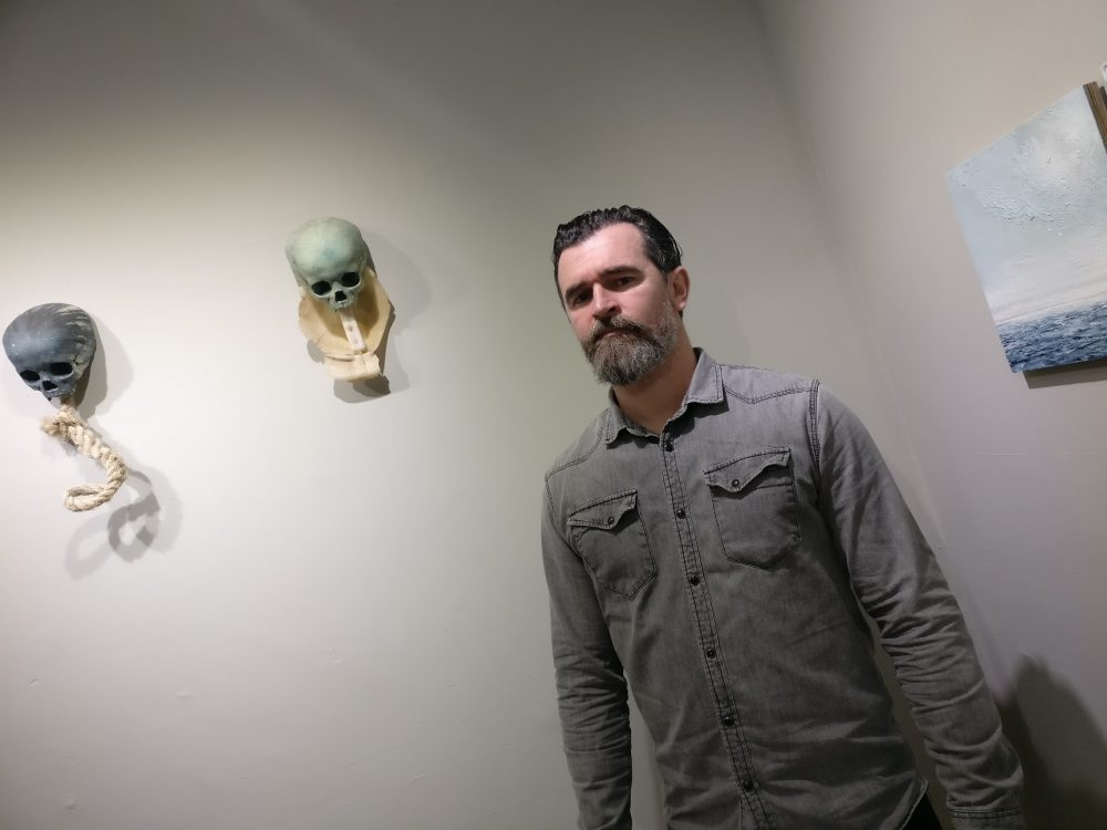 Kilkenny artist Alan Raggett. Photo: Ken McGuire/kenmcguire.ie