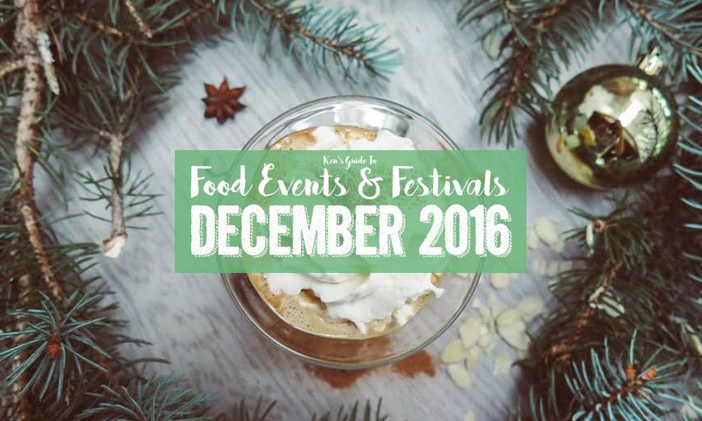 Food Events & Festivals in December 2016