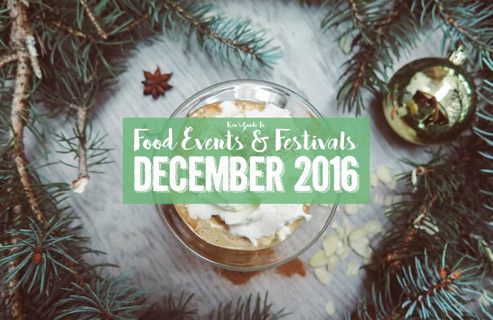 Food Events & Festivals in December 2016