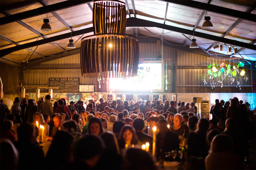 The Big Shed at Ballymaloe. Photo: Litfest.ie