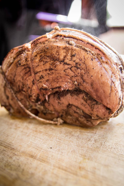 Eight hours later, we've got a slow-cooked ham fillet. Photo: Ken McGuire/kenmcguire.ie