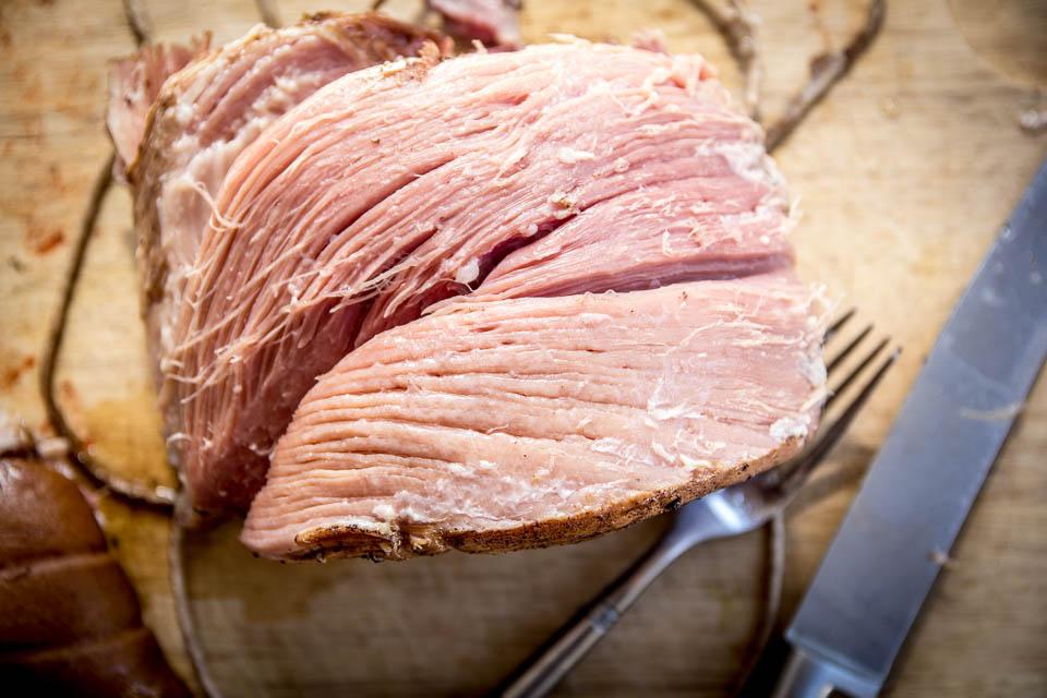 Slow cook ham fillet in Coca-Cola. Photo: Ken McGuire/kenmcguire.ie